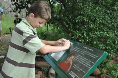 Braille Trail (3) - Lowveld Garden