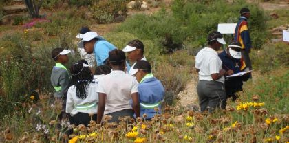 Biodiversity education in KDNBG