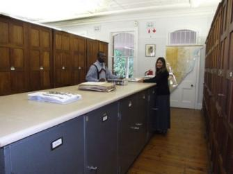 KwaZulu-Natal interior cabinet and working area