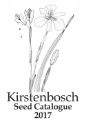 Kirstenbosch Seed Catalogue 2017