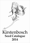 Kirstenbosch Seed Catalogue 2014 cover page
