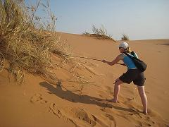 Field work-Namibia