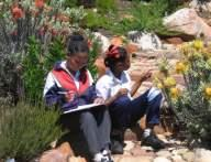 Learners at Kirstenbosch