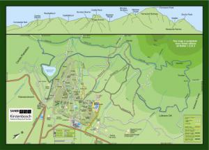 Kirstenbosch National Botanical Garden Maps Sanbi