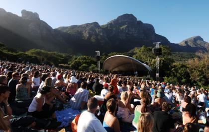A Summer Sunset Concert at Kirstenbosch