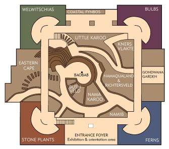 Conservatory floorplan