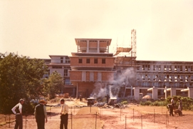 Construction_of_Herbarium_Building_inaugurated_1973