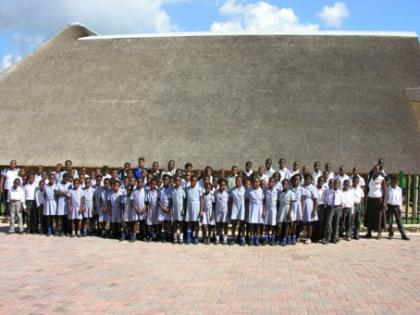 Education Centre with learners