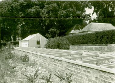New frames and glasshouses in nursery 1954