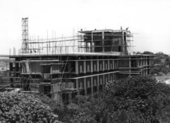 National Herbarium building construction