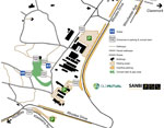 Old Mutual Summer Sunset Concerts parking map thumb