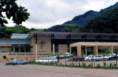 Visitors' Centre and parking