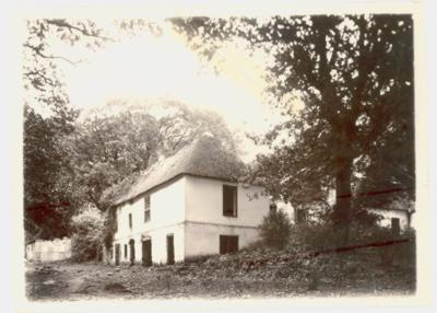 Old Eksteen farmhouse before Garden started