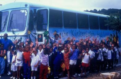 Outeach Bus Kirstenbosch