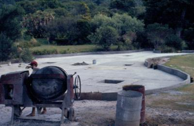 Reconstructing the pond 1972