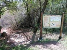 Riverside trail entrance
