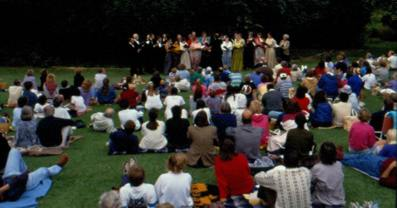 St George's Singers conceert in March 1992