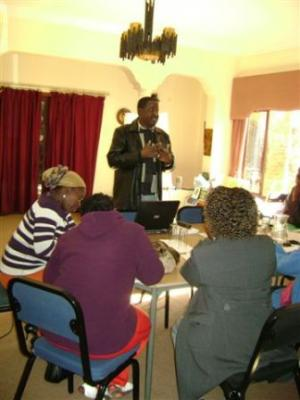 Teachers' Workshop in Progress