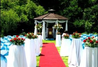 Wedding In The Sculpture Garden