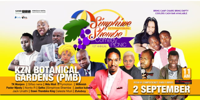 Comedy Picnic at KwaZulu-Natal NBG