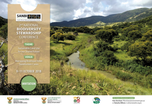 2nd Biodiversity stewardship conference Invite