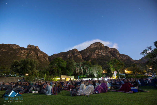 Galileo Open Air Cinema at Kirstenbosch NBG