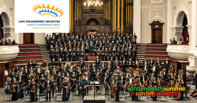 The Cape Town Philharmonic Orchestra – Summer Sunset Concert
