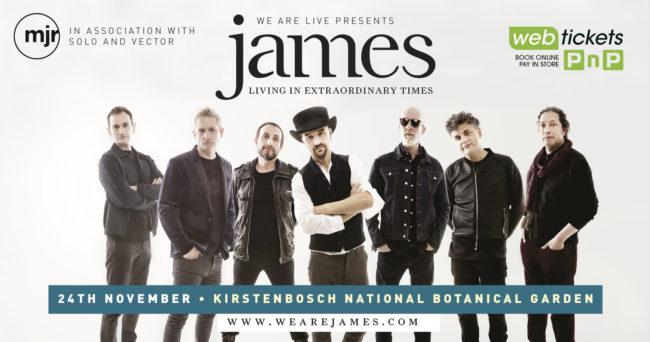 James – International Concert at Kirstenbosch