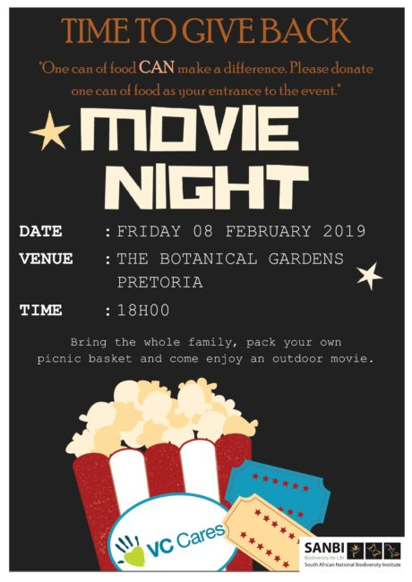 Varsity College cares give back movie night