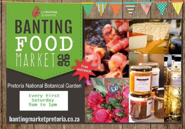 Banting food market