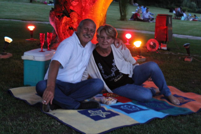 Valentine's picnic under the stars