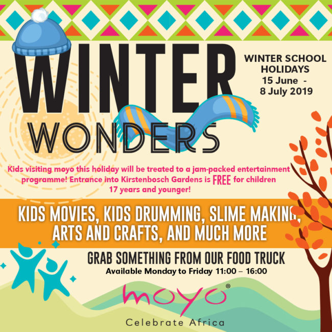 Winter Wonders with Moyo and Kirstenbosch