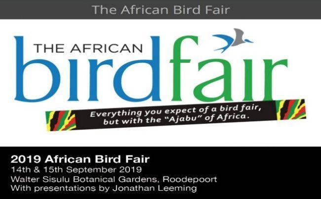 African bird fair