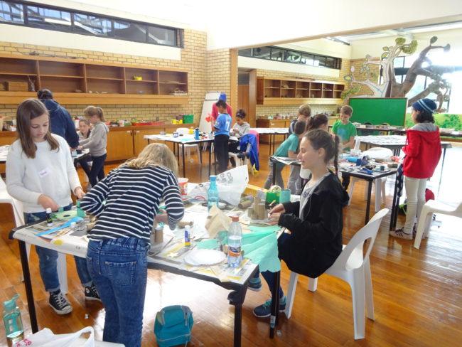 'Create a Creature' waste art workshop for children