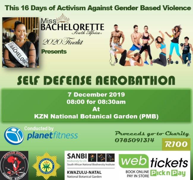 Self Defense Aerobathon for Charity