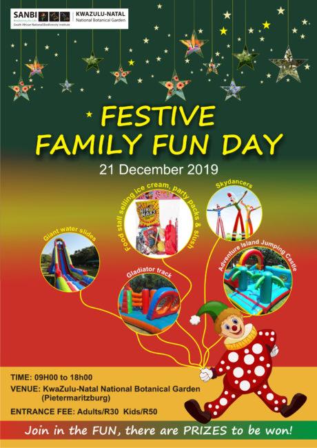 2019 Festive Fun poster.