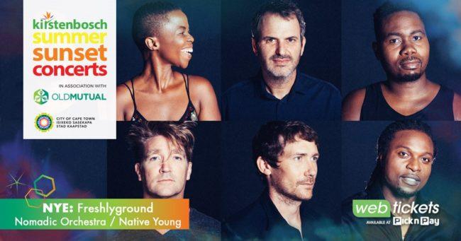 Kirstenbosch Summer Sunset Concert: New Year's Eve