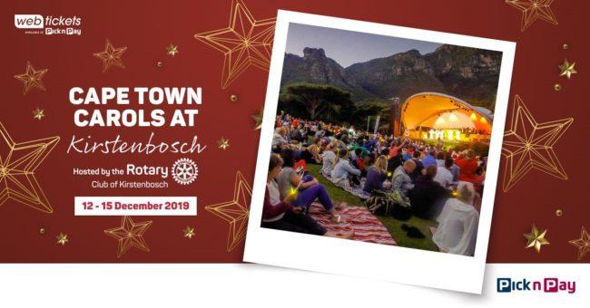 Kirstenbosch Summer Sunset Concert: Cape Town Carols