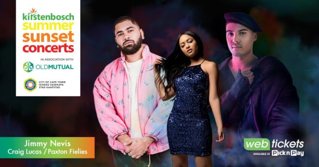 Summer Sunset Concert: Jimmy Nevis with opening acts, Craig & Paxton