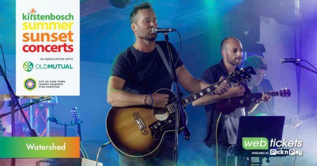 Kirstenbosch Summer Sunset Concert: Watershed