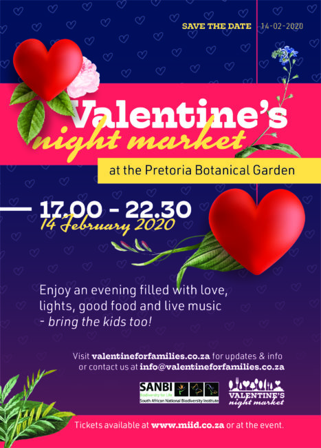 Valentine's night market