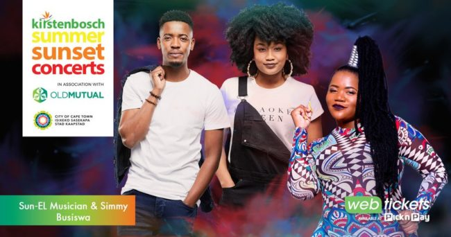Sun-El Musician, Simmy and Busiswa bring the beat to Kirstenbosch