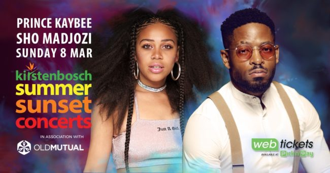 Sho Madjozi and Prince Kaybee to bring down the house