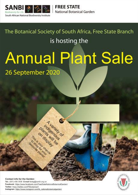 2020_Plant Sale Poster FSNBG.
