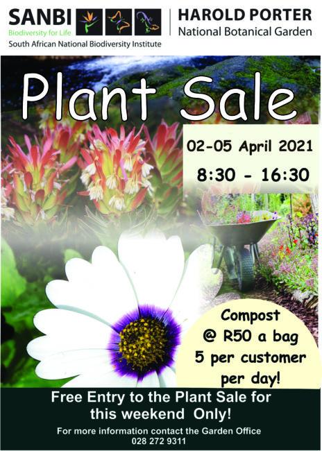 Plant Sale 2021